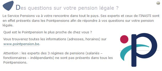 Point pension
